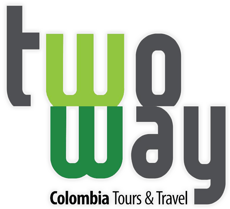 Logo Two Way Colombia con resplandor